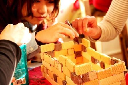 お菓子の家を作る2