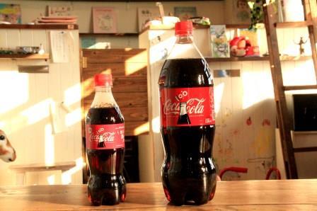 コーラ大小