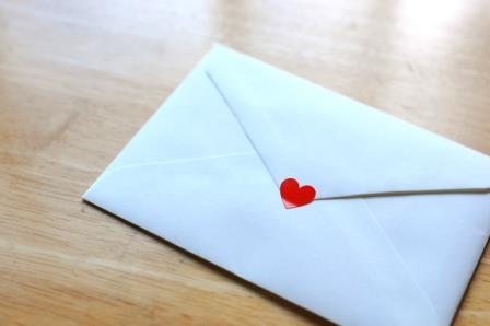 彼氏への手紙サプライズ