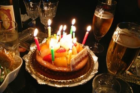 誕生日お祝いのタイミング